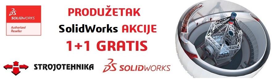 SOLIDWORKS AKCIJA se nastavlja – naručite nove licence do isteka zaliha!!!